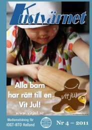 Nr 4 – 2011 Alla barn har rätt till en Vit Jul! - IOGT-NTO Halland