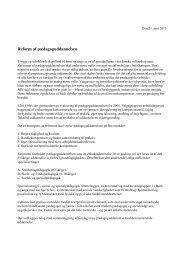 Bilag til forståelsespapir (PDF) - Ministeriet for Forskning, Innovation ...