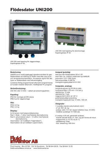 datablad - Fluid Inventor AB