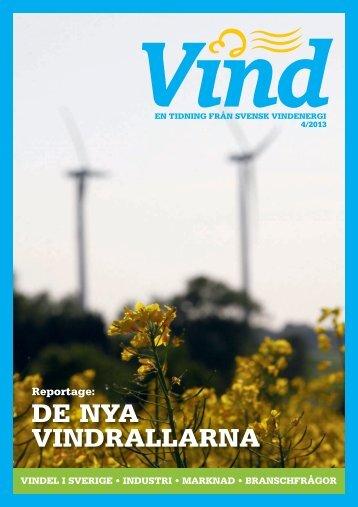 Nummer 4 – 2013 - Svensk Vindenergi