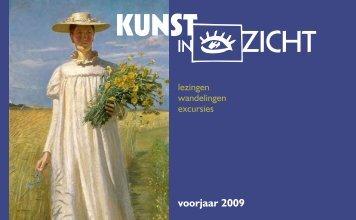 voorjaar 2009 - Kunst in Zicht