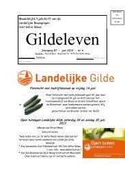 Gildeleven - Landelijke Gilde Sint-Gillis-Waas