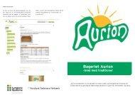 Bageriet Aurion - Nordjysk Fødevare Netværk