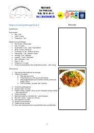 Stegte ris med grøntsager(4 pr.)