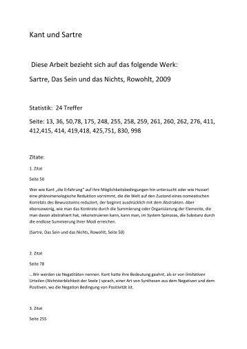 Kant und Sartre (Alfred Dandyk)