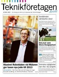 Teknikföretagen Direkt nr 3 2007
