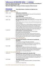 Prel program - Danmarks Tekniske Museum