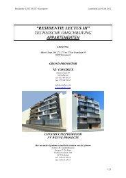 residentie lectus iii - Immo Olivier Platteau