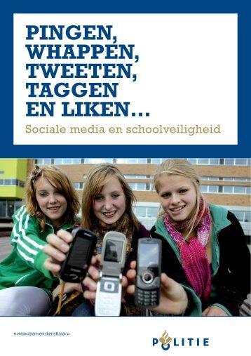 Pingen, whappen, tweeten, taggen en liken…Sociale ... - Kennisnet