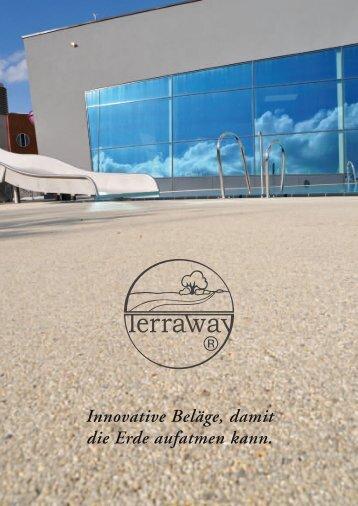Innovative Beläge, damit die Erde aufatmen kann. - Terraway