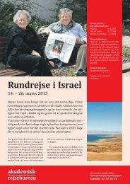 Rundrejse i Israel - Politiken Plus