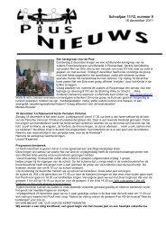 Pius-nieuws 9, 16-12-2011 - Basisschool Pius X