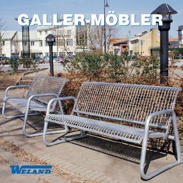 Gallermöbler - Weland AB