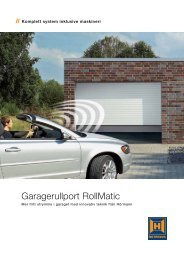 Garagerullport RollMatic - Ett 2 Tre Garageportar AB