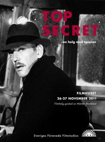 TOP SECRET - Sveriges Förenade Filmstudios