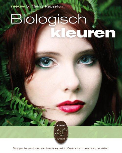 Biologisch kleuren - Mienis kapsalon