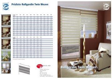Rullgardin Twin-Weave Rullgardin Twin-Weave