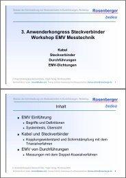 Steckerkongress Vogel-Verlag 2009 - Bmund.de