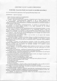 MINISTERIE VAN DE VLAAMSE GEMEENSCHAP - Tmvw