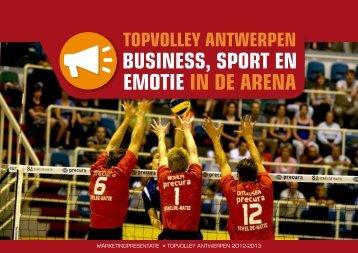 business, sport en emotie in de arena - Schelde-Natie PRECURA ...