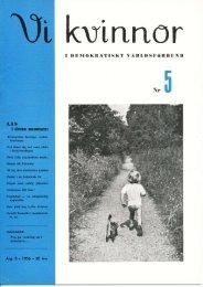 1956/5 - Vi Mänskor