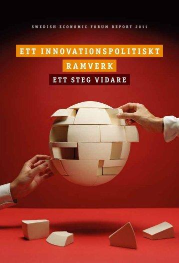 Ett innovationspolitiskt ramvErk - Entreprenörskapsforum
