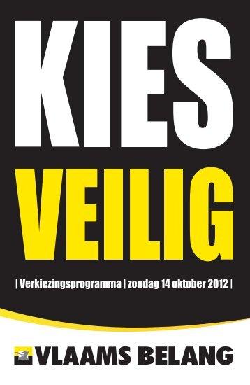 verkiezingsprogramma in pdf - Vlaams Belang Hove