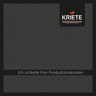KRIETE Imagebroschüre (PDF, 2,3 MB) - Kriete Industrievertretung