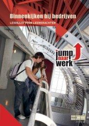 Binnenkijken bij bedrijven, Leidraad voor leerkrachten - Tracé Brussel