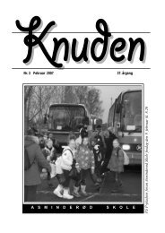 Knuden februar 2007 - Fredensborg Skole