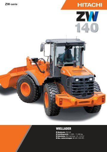 Brochure ZW140 - Hitachi Construction Machinery
