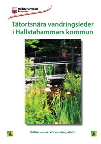Tätortsnära vandringsleder (pdf, 5 MB, öppnas i ... - Hallstahammar