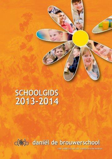 DDB schoolgids 13 - 14 - Daniel de Brouwerschool