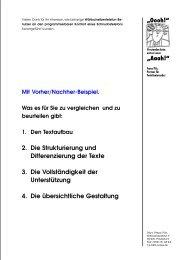 2. Die Strukturierung und Differenzierung der Texte 3 ... - Franz Pils