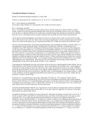 Referat Generalforsamling 2006 - Grundejerforeningen Lysholmsvej ...