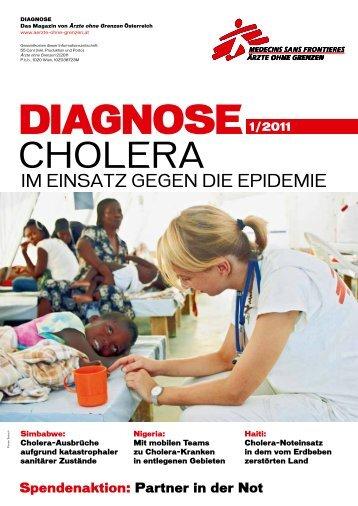 DIAGNOSE 1/2011 - Ärzte ohne Grenzen