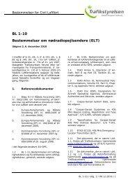 BL 1-10, 3. udgave af 6. december 2010 - Trafikstyrelsen
