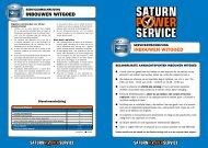 Algemene Voorwaarden Inbouwen - Saturn