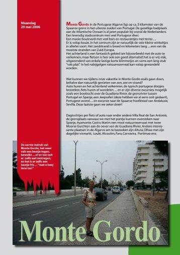 Maandag 29 mei 2006 - Marjosker.nl