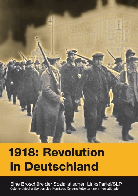 1918: Revolution in Deutschland - SLP