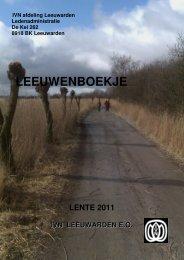 Deel 2 Lente 2011 - IVN - Leeuwarden