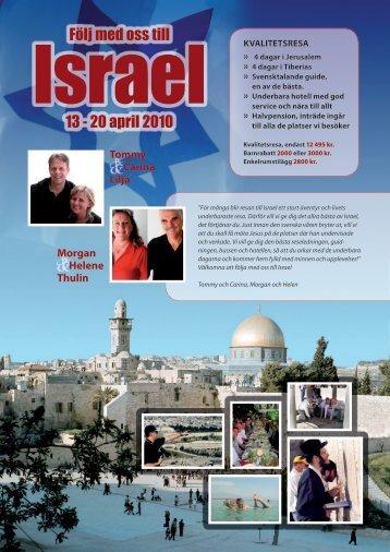 israel 13 - 20 april 2010 - Bandzoogle