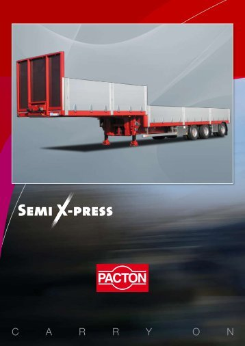 Semi X-press - Pacton