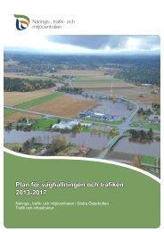 Plan för väghållningen och trafiken 2013-2017 - ELY-keskus