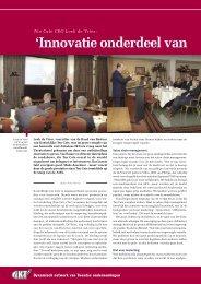 'Innovatie onderdeel van value cha - Twentevisie