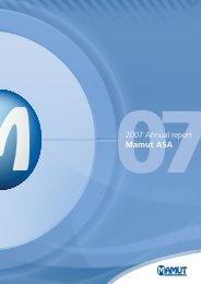 Annual Report 2007 - Mamut