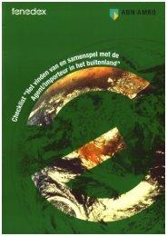 Checklist 'Het vinden van en samenspel met de ... - Nederland ICT