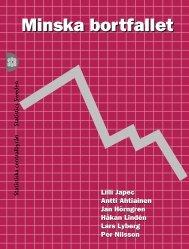 Minska bortfallet (pdf) - Statistiska centralbyrån