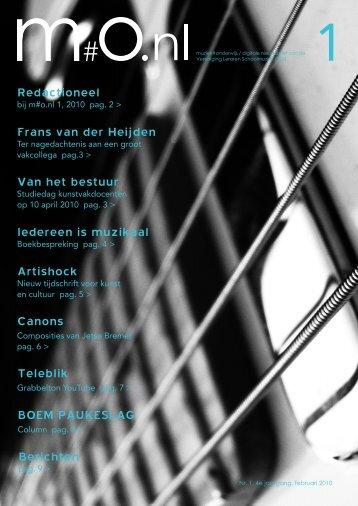 Frans van der Heijden - Vereniging Leraren Schoolmuziek