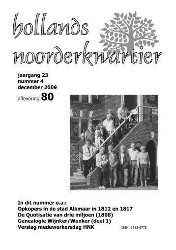 80 - NGV afdeling Hollands Noorderkwartier - Nederlandse ...